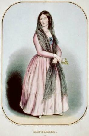 Vintage Matilda 1847 reprinted in 16 by 24 inch priint.