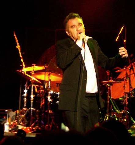 Stephen Morrissey in concert in 2006. Currently he has a full concert schedule, which he has had to cancel several due to illness.