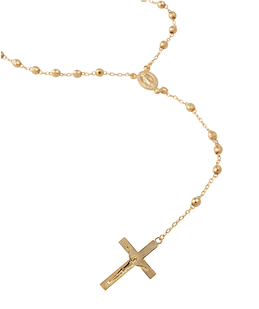 gold gold chain rosary