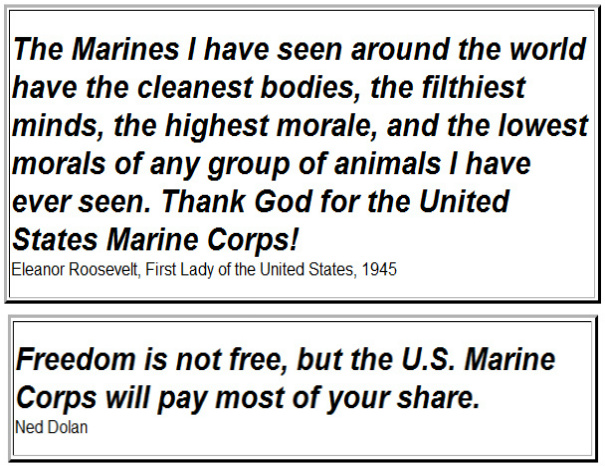 Eleanor Roosevelt Quote About Marines Extraordinary Remembering Soldiers With Gratitude Even After Memorial Day