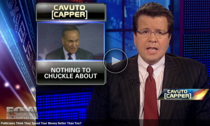 Neil Cavuto shares factual information on how the politicians think they know how to spend your money better than you do. Click here to watch the video.