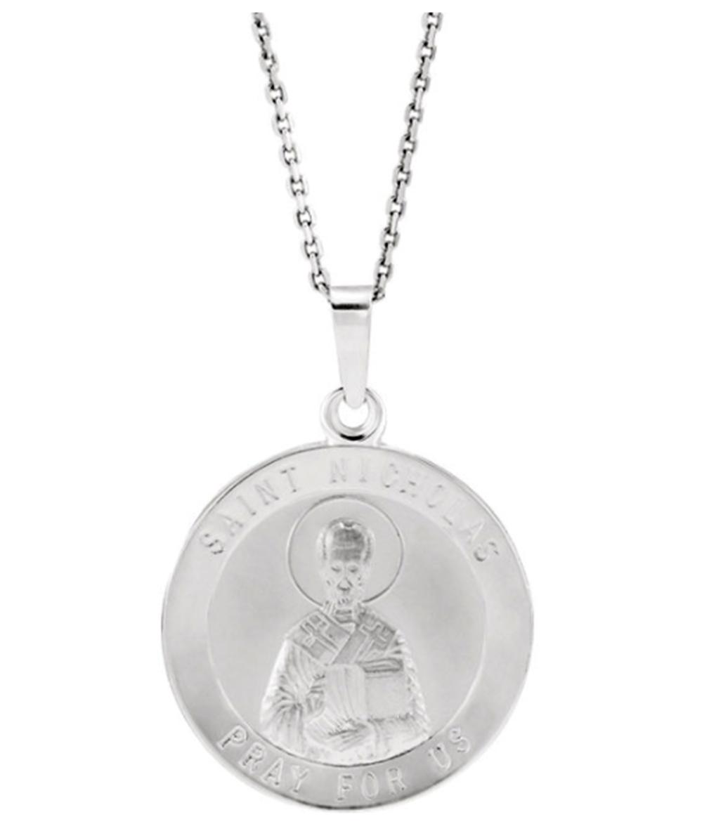 Sterling Silver 19.5x15mm Design Cross Pendant
