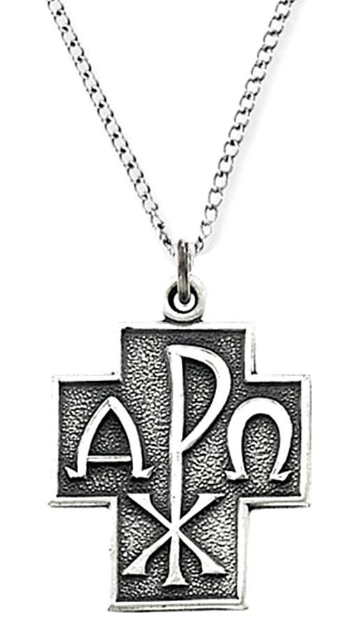 Alpha Omega Cross Necklace 1006 Boomer Style Magazineboomer Style