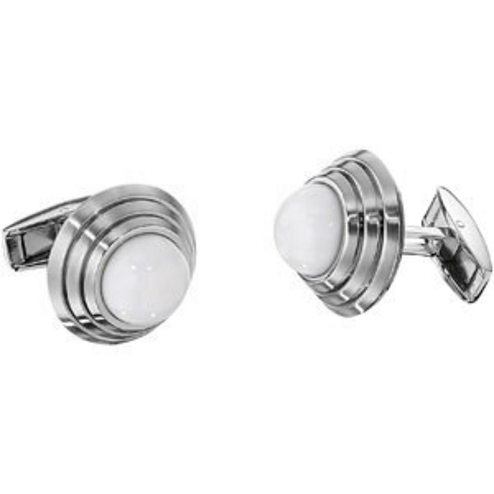 silver venus symbol earing