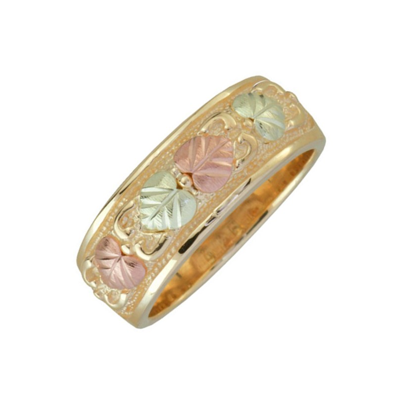 Women s Rings in 10k Yellow Gold 12k Rose and Green Gold Black