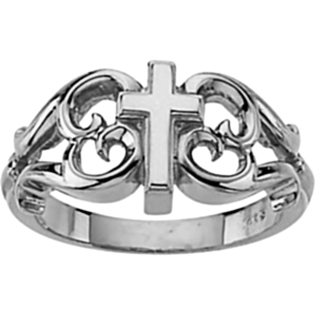 Religious rings for men and women boomer style magazineboomer design cross ring 14kw buycottarizona