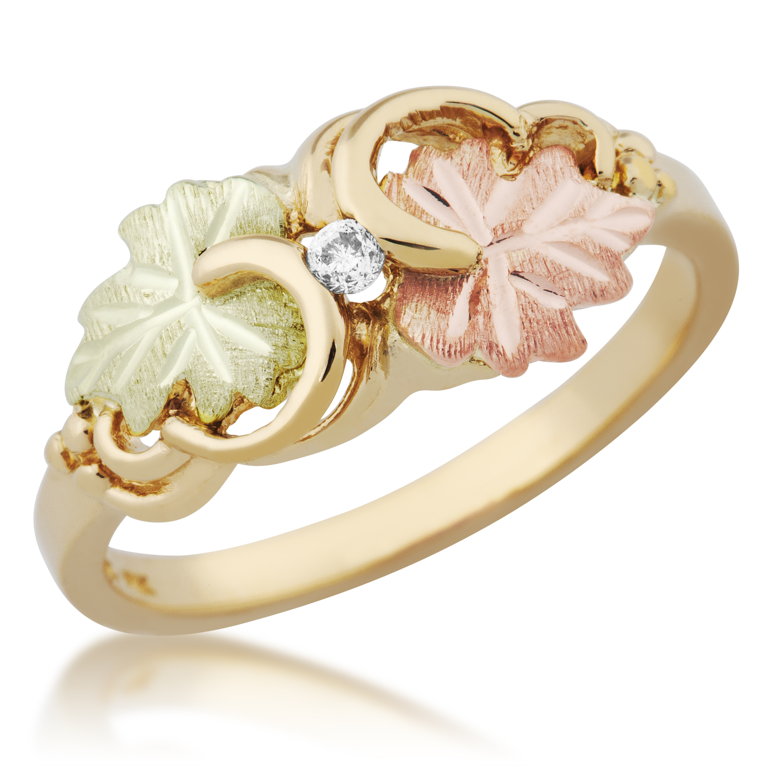 colored product ring s gold bands diamond vault barbara tri parker color bp rolling