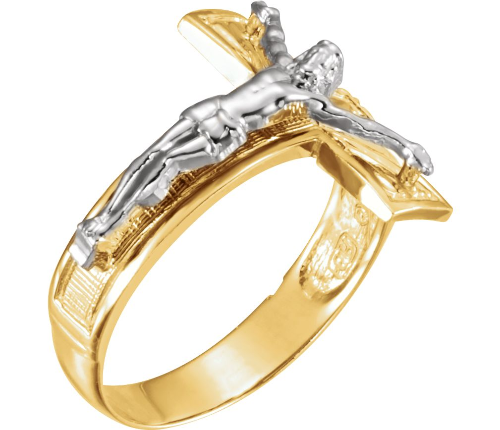 Beautiful Crucifix Rings For Men And Women Boomer Style