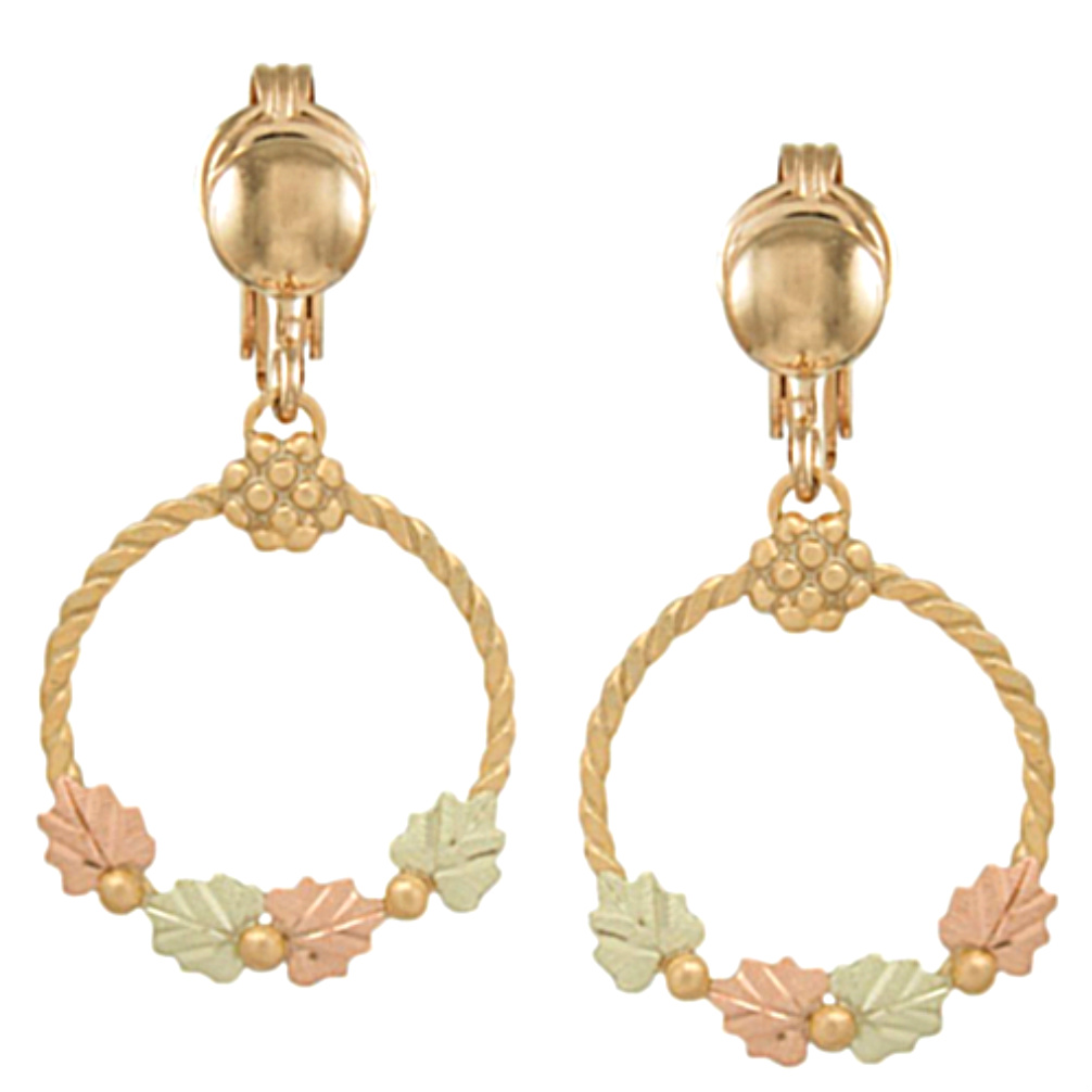 products kennethjaylane on gold kjl satin earring earrings com clip seashell collections