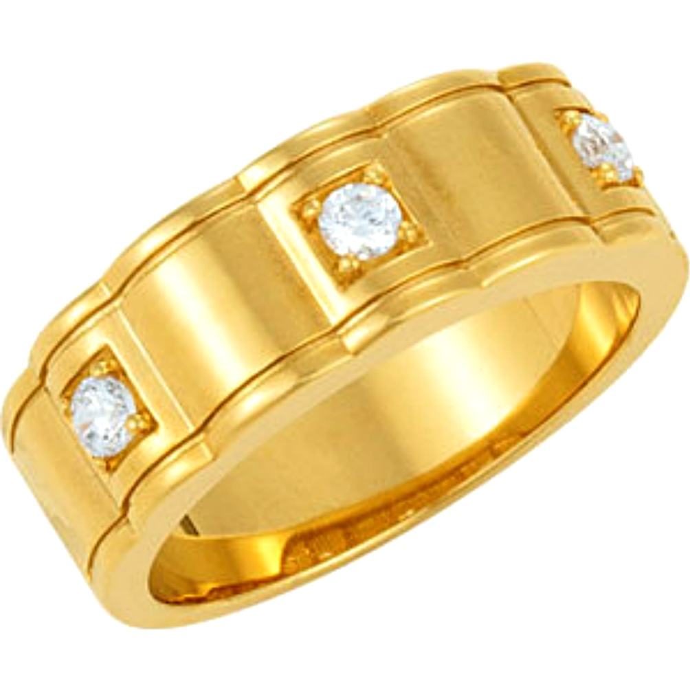 stacking contemporary yellow products bespoke gold wedding ring band bands platinum two and modern diamond