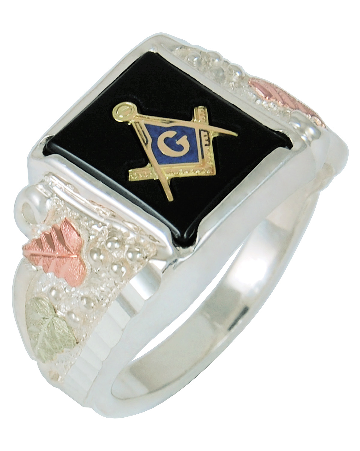 mason ring mens and freemason lg fashion gold yellow rings white diamond free
