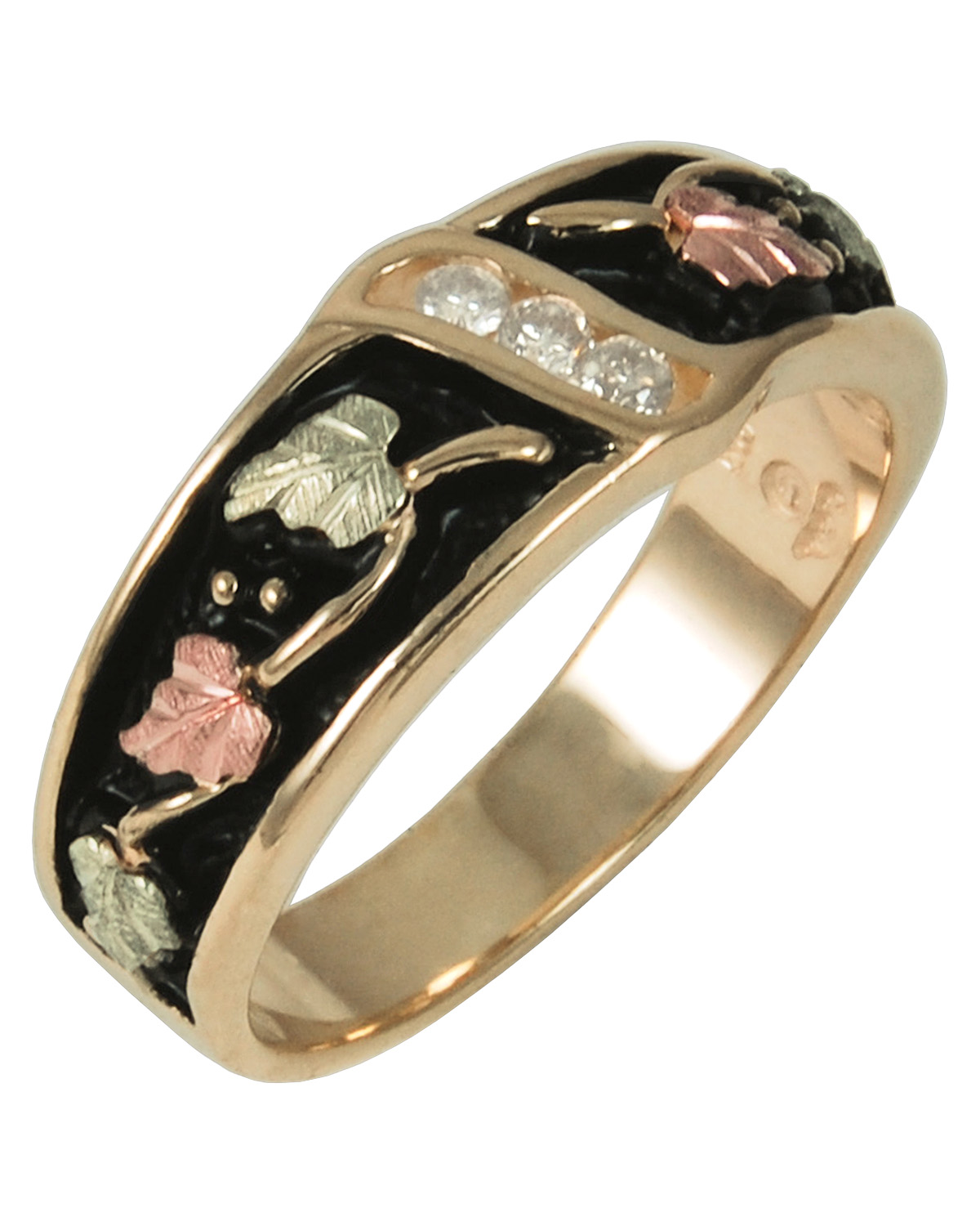 rose wedding and titanium gold mens beautiful rings amp s black band of bands new men ring