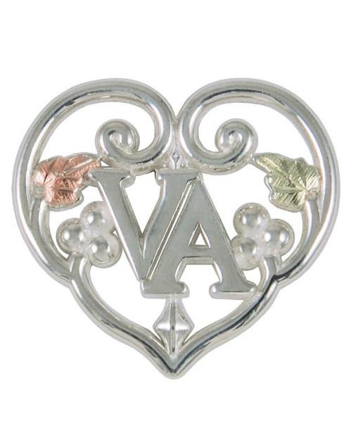 sterling-silver-heart-in-word-va-tie-tac-lapel-pin-earrings-60026-GS