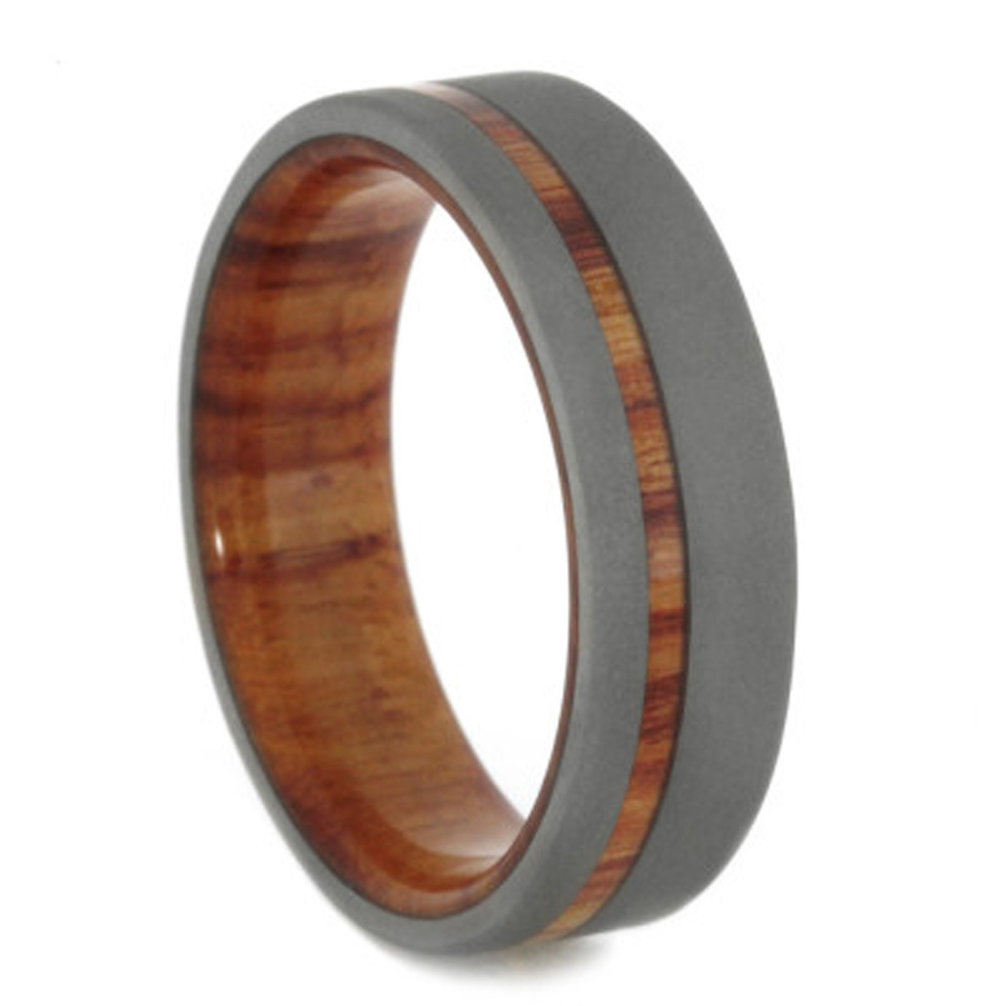 today pics comments r meteoritetungsten meteorite my rust tungsten rings ring arrived