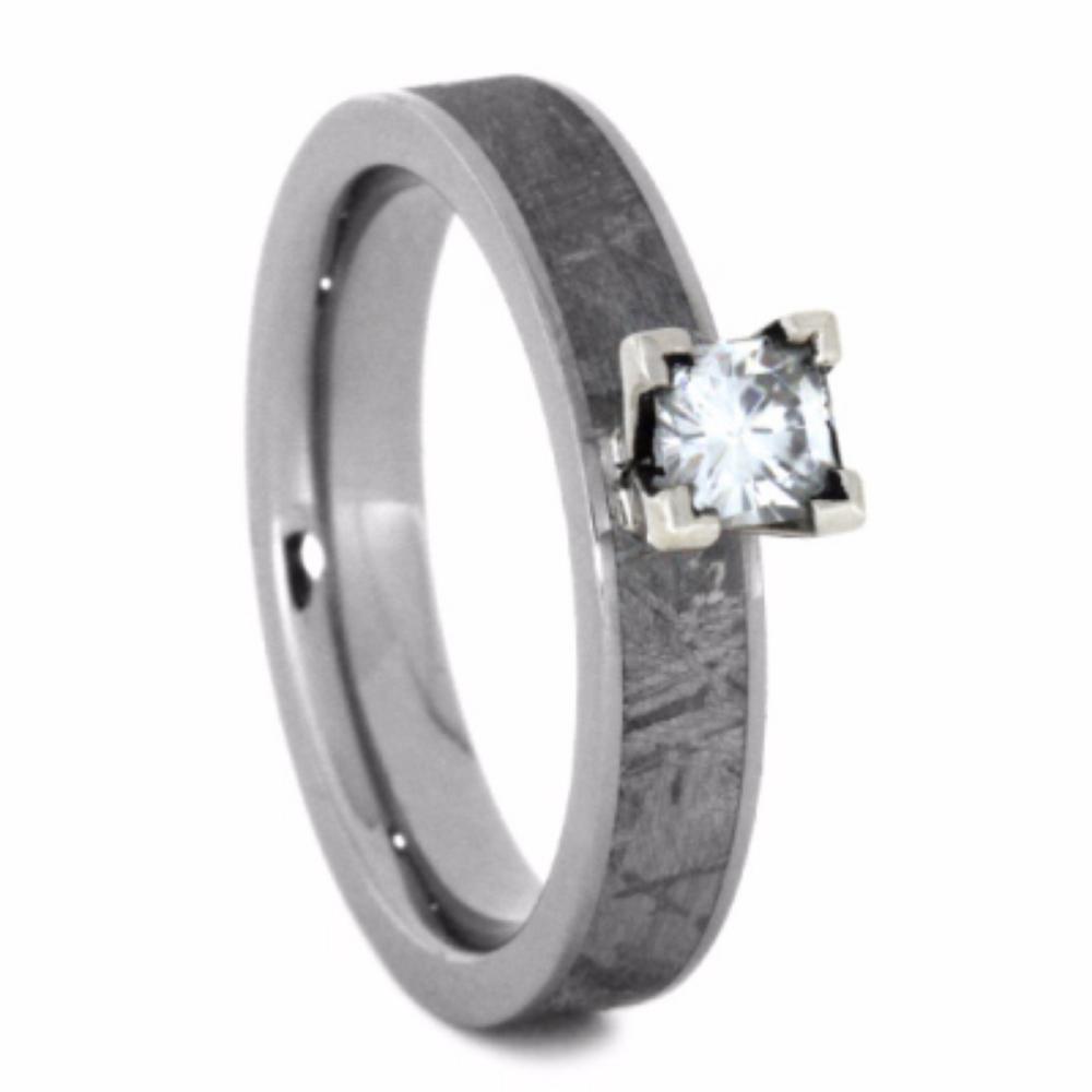 Gibeon Meteorite Ring Rust