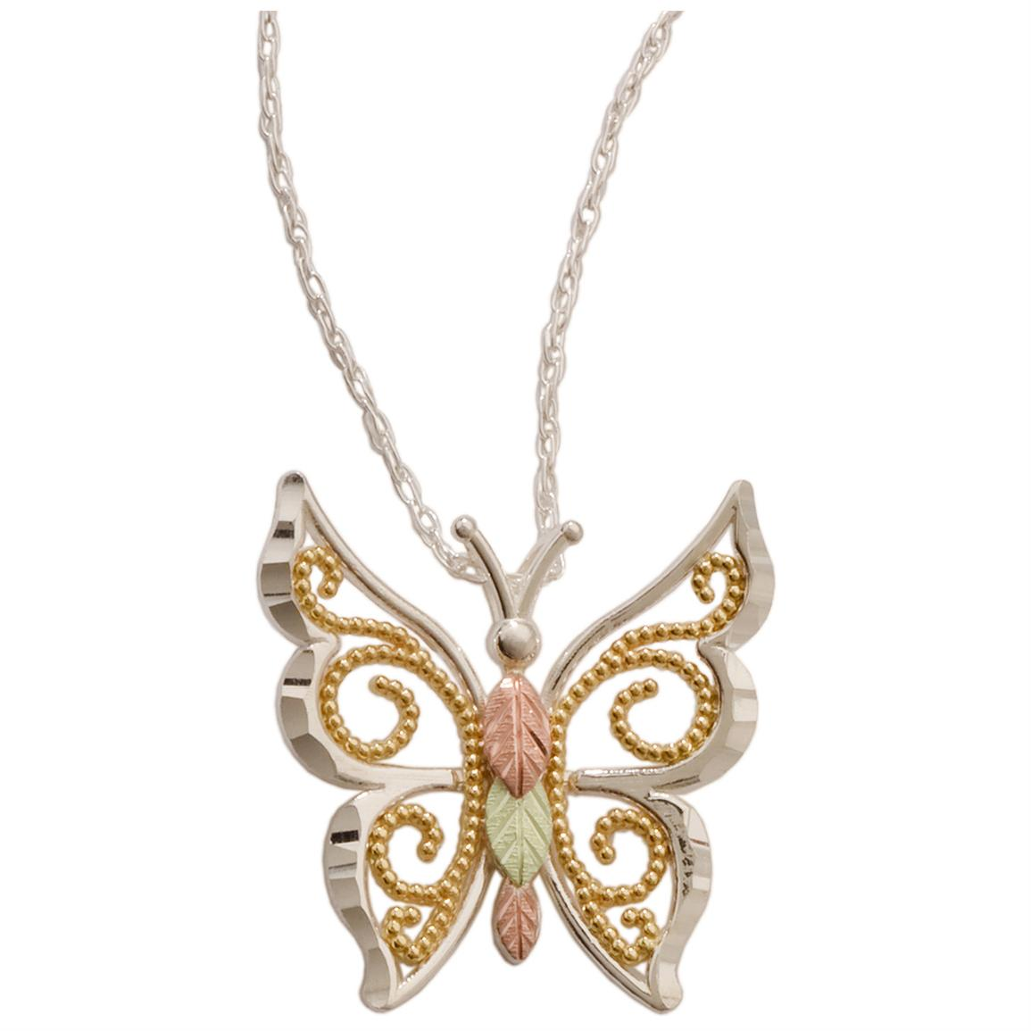 Butterfly Jewelry Collection Black Hills Gold 14k Yellow