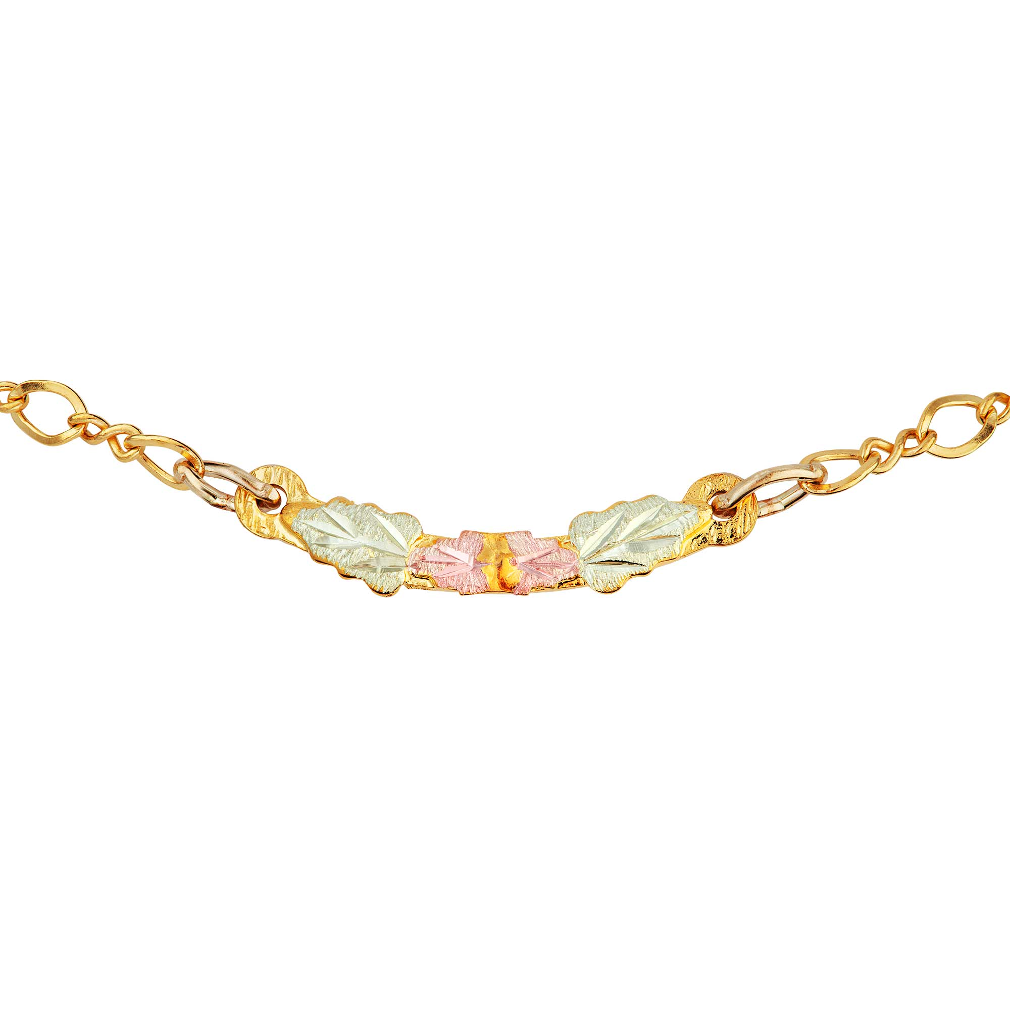 watch on qvc adjustable bead bracelet gemstone ankle anklet eternagold gold